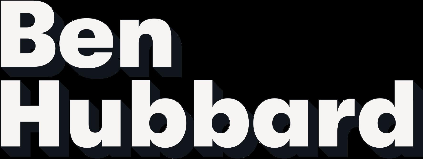 Ben Hubbard logo